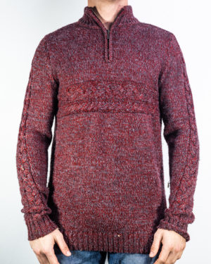 Little Burgundy Sweater